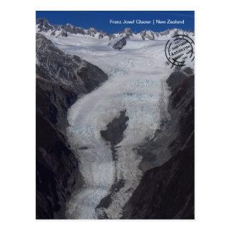 Franz Josef glaciar (Nova Zelândia cartão postal)