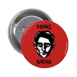 Franz Kafka Bóton Redondo 5.08cm