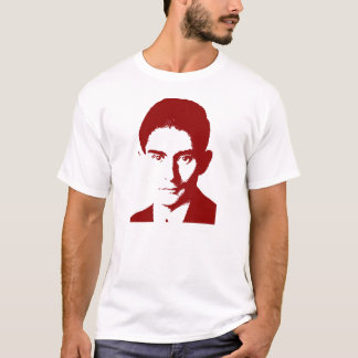 Franz Kafka vermelho Camiseta