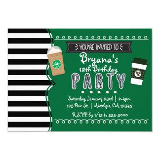 Frap convites adolescentes da festa de aniversário