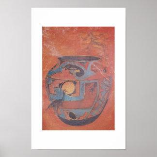 Frasco da alma de Zuni Poster
