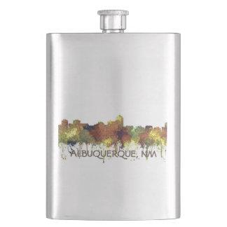 Frasco De Bebida Albuquerque, skyline do nanômetro - SG - lustre do
