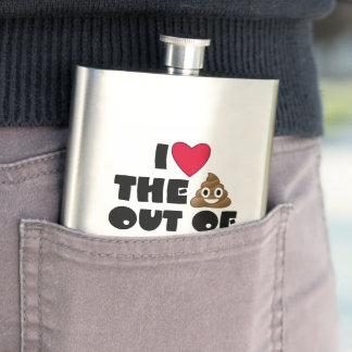 Frasco De Bebida Amor engraçado de Emoji