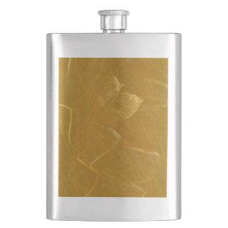 Frasco De Bebida Arte artística DOURADA da folha de ouro de LOTUS