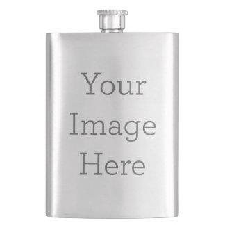 Frasco De Bebida Criar sua própria garrafa de aço inoxidável