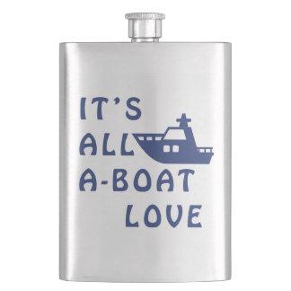 Frasco De Bebida É todo o amor do Um-Barco