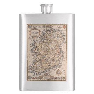 Frasco De Bebida Ideia 1931 do presente do mapa de Ireland do