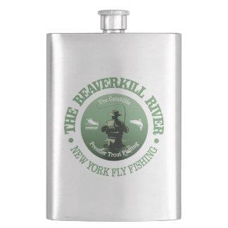 Frasco De Bebida Rio de Beaverkill (pesca com mosca)
