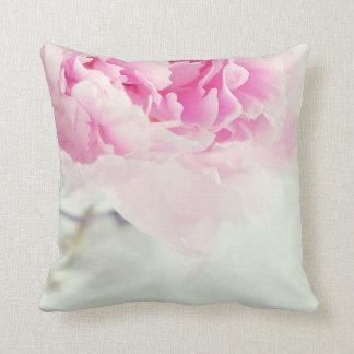 Frasco de pedreiro cor-de-rosa da peônia do almofada