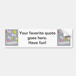 Frase inspirador da tipografia - cinza adesivo para carro
