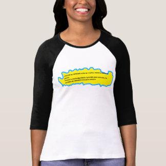 frases da vida camisetas