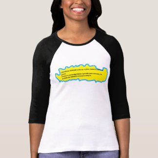 frases da vida t-shirt