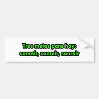 Frases mestres 10 adesivo para carro