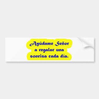 Frases mestres 15,03 adesivo para carro