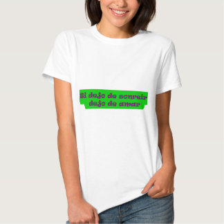 Frases mestres 15,10 t-shirts
