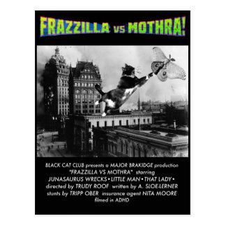 Frazzilla! Um cartão do gato do monstro