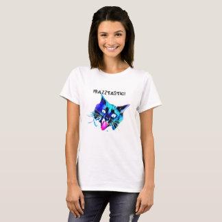 Frazztastic! T-shirt do gato Camiseta