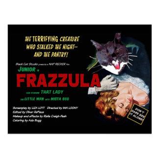 Frazzula! Um cartão do gato do monstro