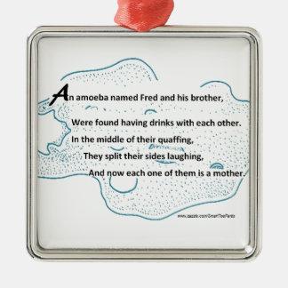 Fred a ameba - um poema da ciência de ornamento de metal