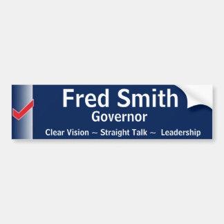 Fred Smith para o governador Adesivo Para Carro