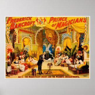 Frederick Bancroft, príncipe do poster dos mágicos