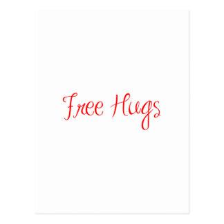 free-hugs-sexy-red png cartao postal