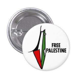 Free Palastine Pin Botons