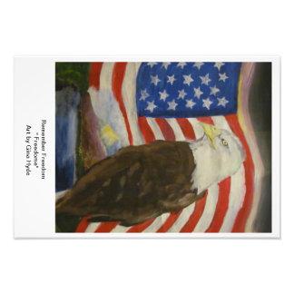 Freedome-Poster Impressão De Fotos