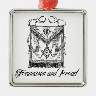 Freemason e ornamento orgulhoso