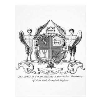 Freemason Flyer 21.59 X 27.94cm