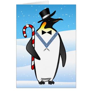 Freemason maçónico dos cartões de Natal   boas