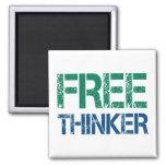 freethinker imã de refrigerador