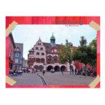 Freiburg no máximo acidente previsível de purê car cartao postal