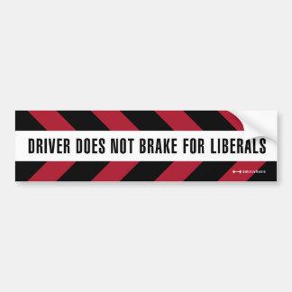 freio para liberais adesivo para carro