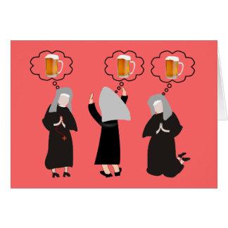 Freira católica Gifts~~Hilarious Cartão Comemorativo