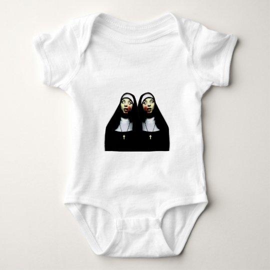 Freiras do horror body para bebê