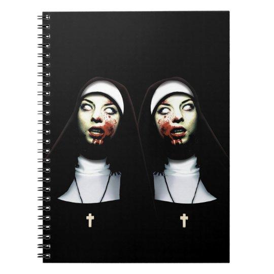 Freiras do horror cadernos