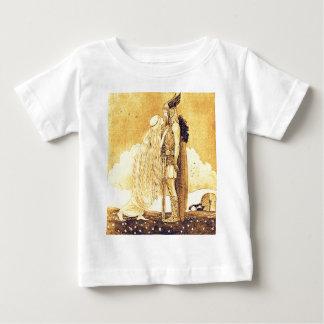 Freja e Svipdag por John Bauer Camiseta Para Bebê