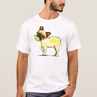 Frenchie desportivo camiseta