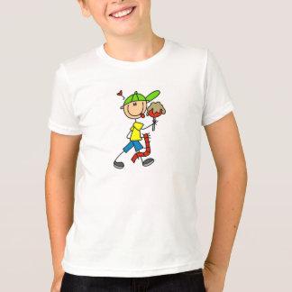 Frequentador do carnaval do menino camiseta