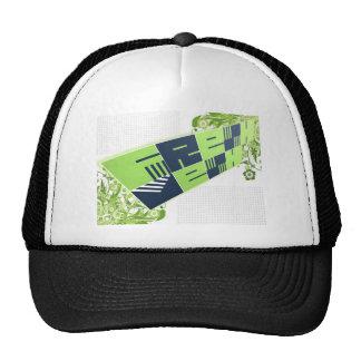Fresco: Camionista do logotipo da malha Boné
