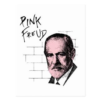 Freud cor-de-rosa Sigmund Freud Cartão Postal
