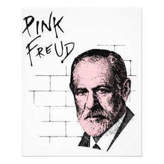 Freud cor-de-rosa Sigmund Freud Flyer 11.43 X 14.22cm