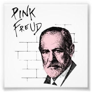Freud cor-de-rosa Sigmund Freud Impressão De Foto
