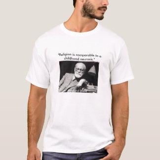 """Freud, """"religião é comparável a uma infância… tshirts"""