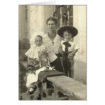 Frida Kahlo com crianças Cartão Comemorativo