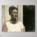 Frida Kahlo cora fotografia Poster