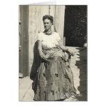 Frida Kahlo em Sun Cartão Comemorativo