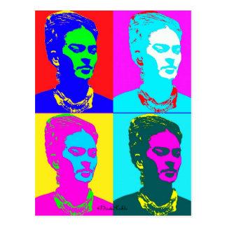 Frida Kahlo inspirou o retrato Cartões Postais