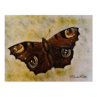 Frida Kahlo pintou a borboleta Cartão Postal